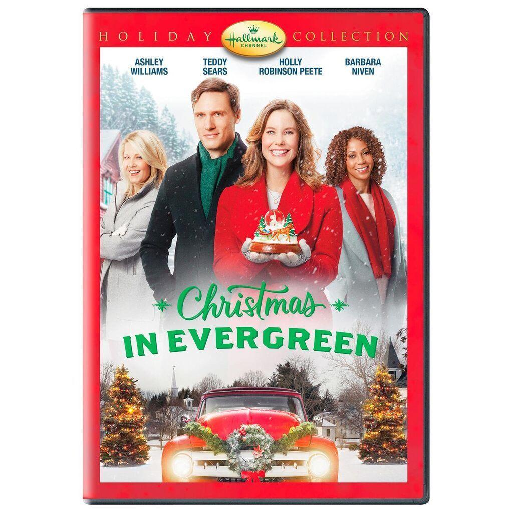 Christmas in Evergreen DVD Hallmark christmas movies