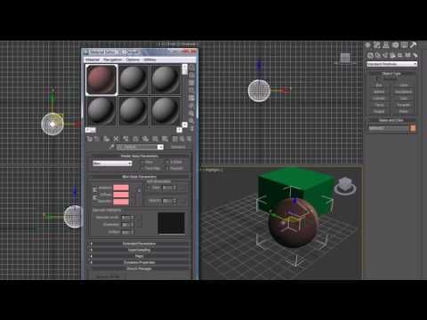 3Ds Max Tutorial - 16 - More on Materials and Maps - YouTube