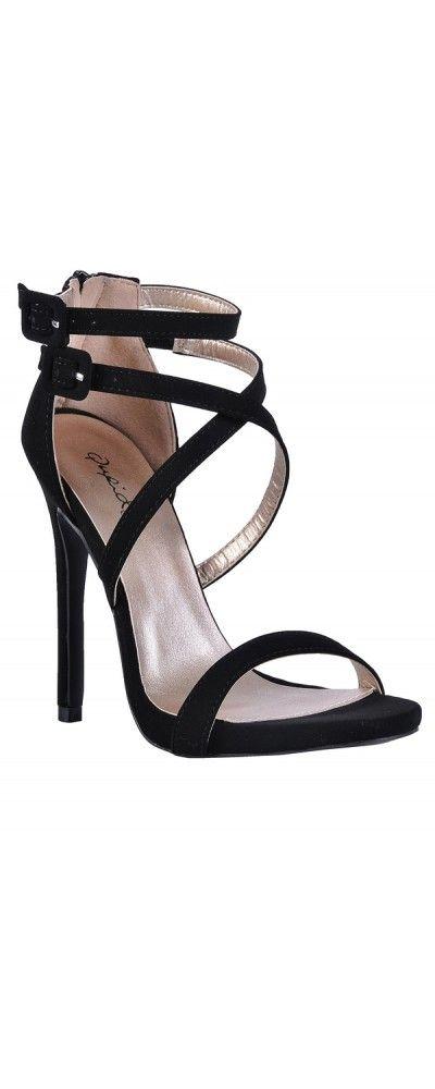 Stiletto heels, Cute black heels, Prom
