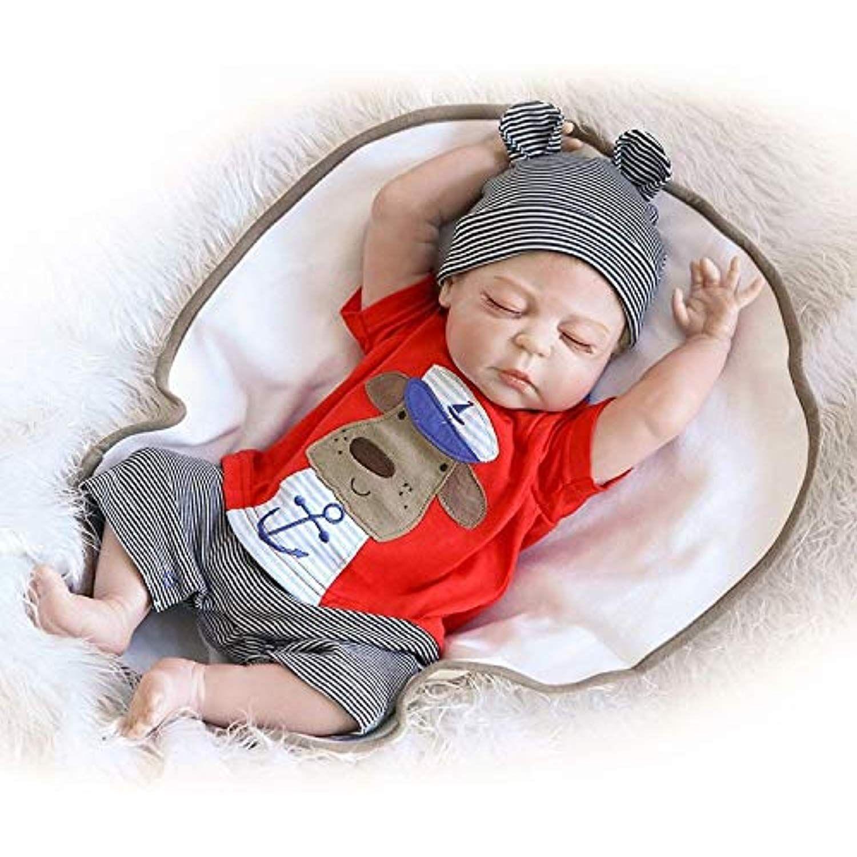 Reallife 20inch Reborn Toddler Dolls Full Soft Silicone Lifelike Babies Boy Bebe