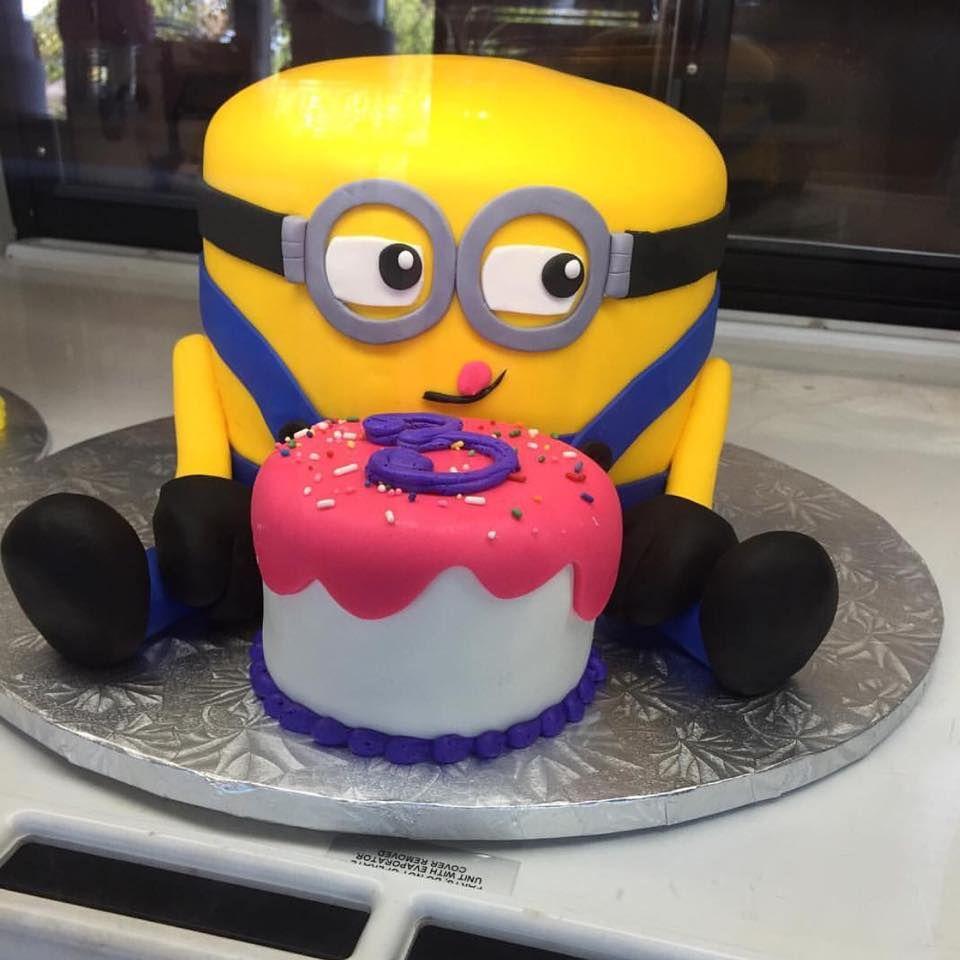 Minion birthday cake gala bakery san lorenzo ca www