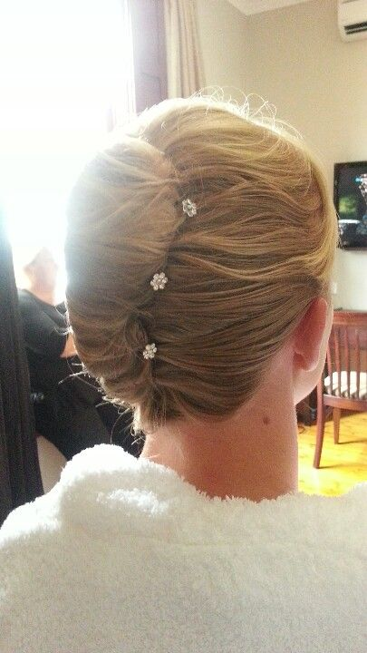 French roll, wedding hair | Hair Style & Colors ...