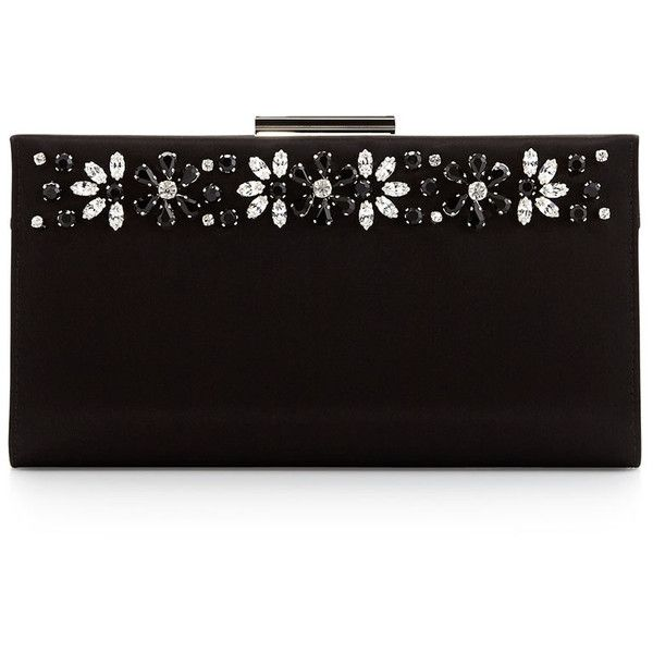 Salvatore Ferragamo Cocktail Kameron Crystal Clutch Bag found on Polyvore