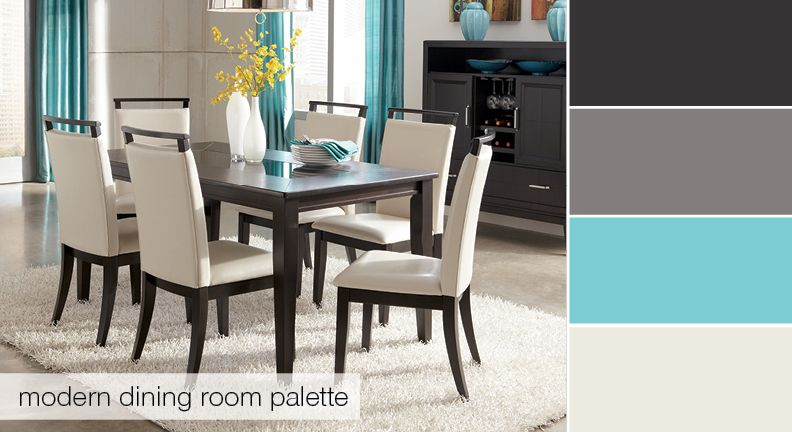 Have An Appetite For A New Dining Room Palette Try This One Out Trishelle