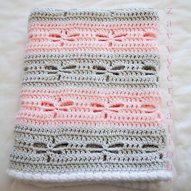 Photo of Dragonfly Baby Blanket FREE Crochet Pattern – Cool Creativities