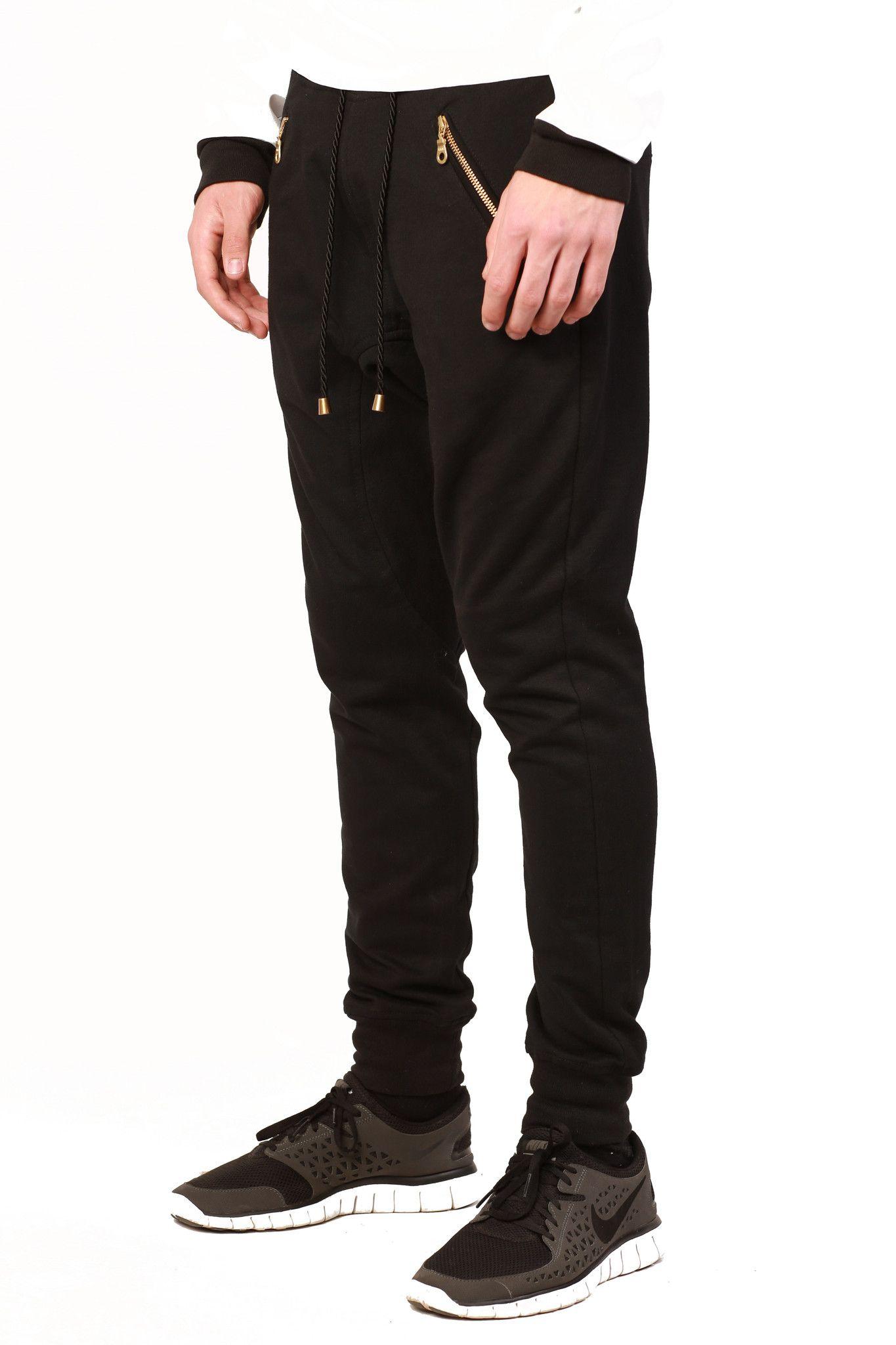 VMU LONDON - Black Joggers - £70.00   Pants, Shorts and Belts ... d188a38117