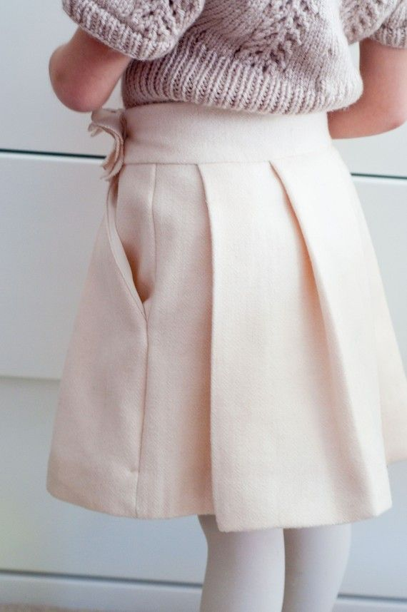Sewing Pattern: Couture Skirt for Girls (PDF INSTANT DOWNLOAD ...