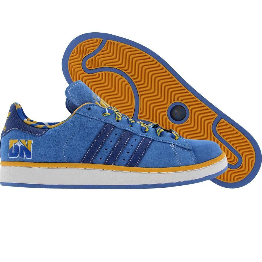 hot sale online f640a e2242 Adidas Campus II - Denver Nuggets (lgblsl / satellite ...