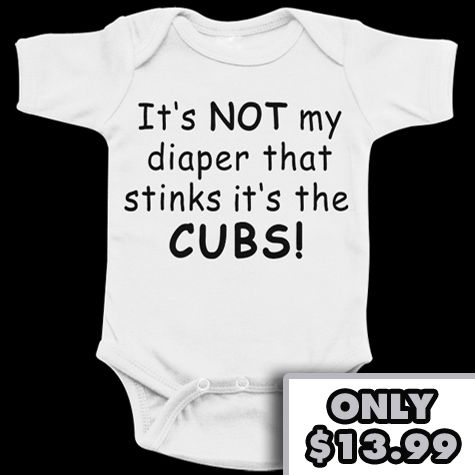 differently f1cd7 1a537 Chicago White Sox Funny Cute Baby Onesie - Anti Cubs | For ...