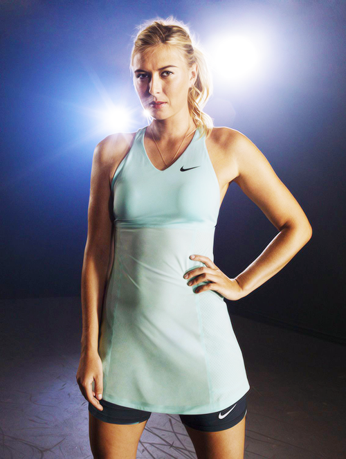 Maria Sharapova's Nike dress for the 2014 Australian Open. Find this Pin  and more on Women's Tennis ...
