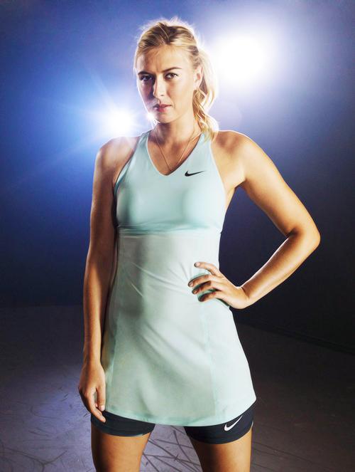 Nike Spring Premier Maria Sharapova Tennis Dress Tennis Fashion Maria Sharapova Tennis Dress