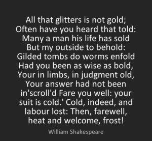Shakespeare Life Quotes Magnificent Shakespeare Quotes All That Glitters Is Not Gold  Most Famous