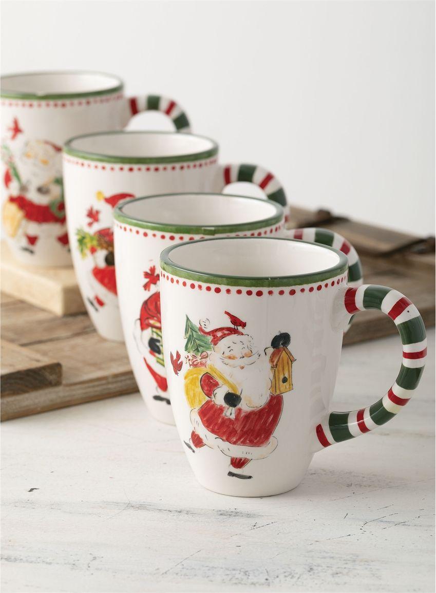 Wholesale Simply Santa Mug Home Decor Multicolor Dinnerware Plates Mugs Etc Sullivans The Holiday Aisle Christmas Mugs Novelty Mugs