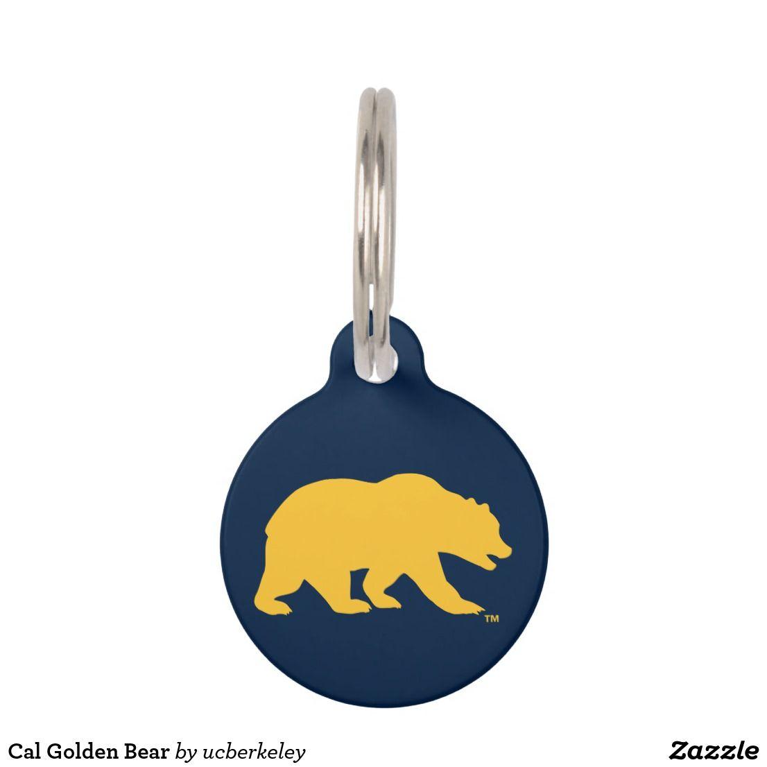 Cal Golden Bear Pet Id Tag Pet Id Tags Pet Id Cal Golden Bears [ jpg ]