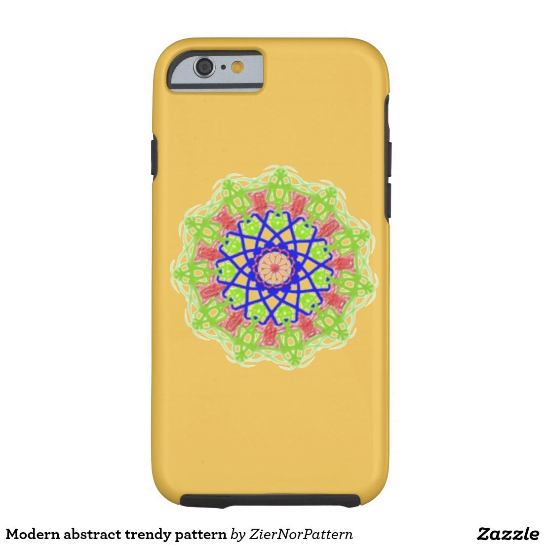 Modern Abstract Trendy Pattern Tough IPhone 6 Case