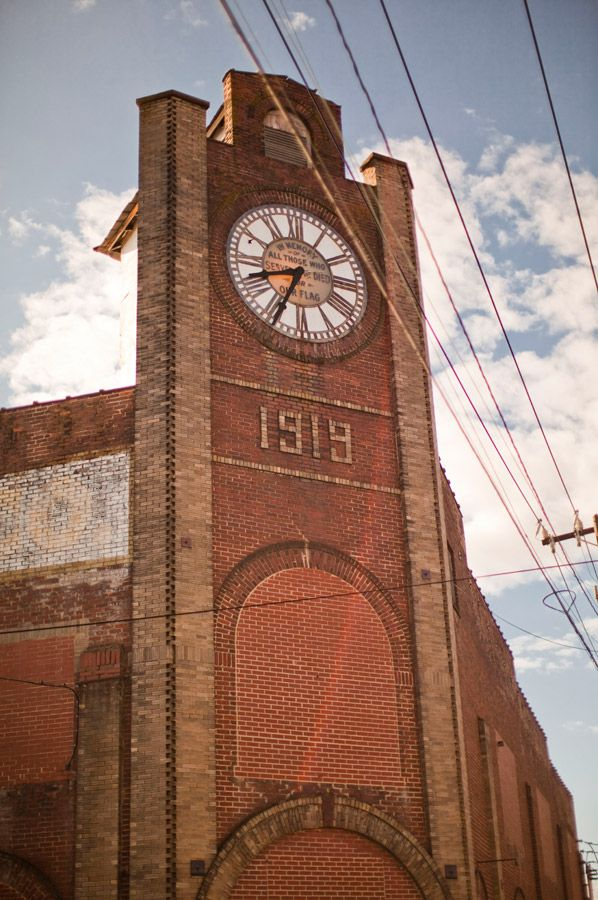 Architectural Gem In Downtown Madison >> The Meador Grocery Clock Tower In Downtown Madison Nc This