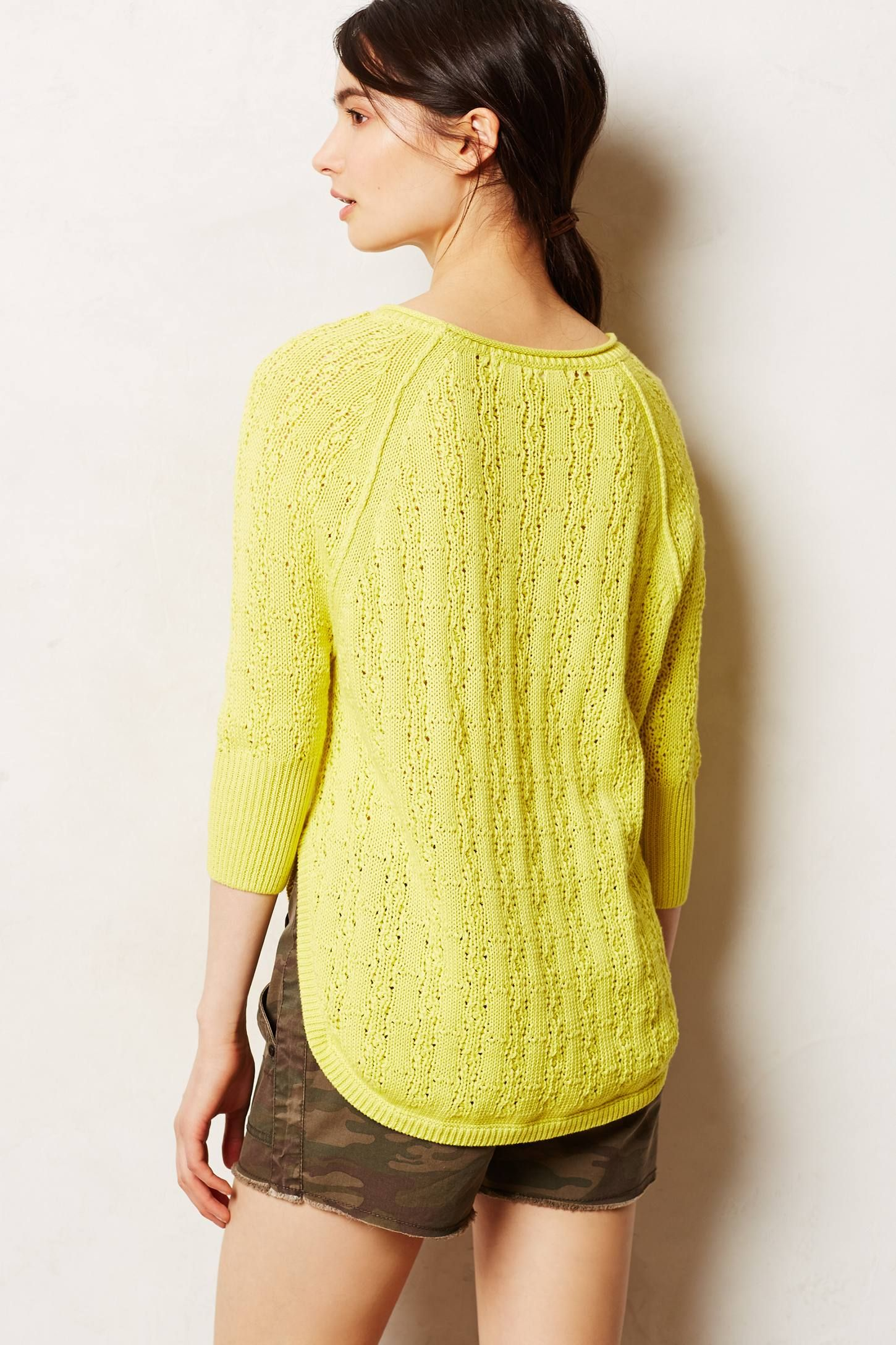 Collected Pullover - anthropologie.com