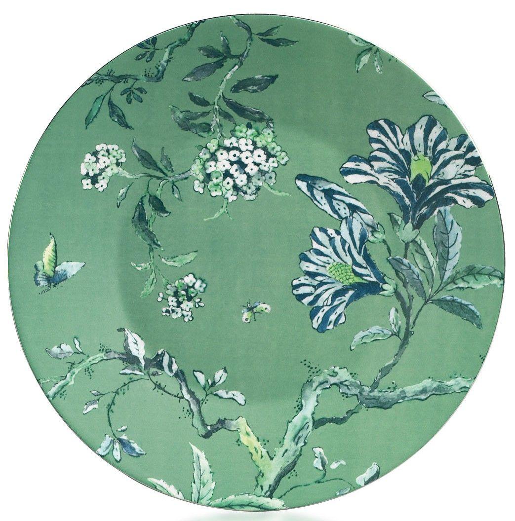 Jasper Conran for Wedgwood - Chinoiserie Green Ornamental Entree Plate  sc 1 st  Pinterest & Michael C Fina   Dinnerware \u0026 Plate Collectables   Pinterest ...