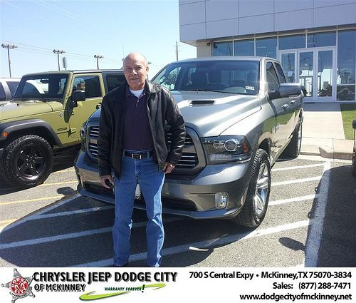 #HappyAnniversary to Maria Delgado on your 2013 #Dodge #1500Qc from Brent Villarreal  at Dodge City of McKinney!