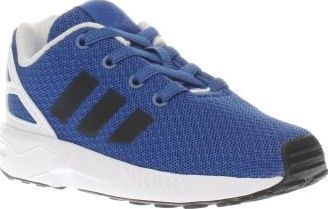 Adidas Blue Zx Flux Boys Toddler Designed for kids, the adidas ZX Flux arrives to keep up with active feet. The running-inspired trainer features a man-made upper in blue with contrasting black no-sew branding for a lightweight appea http://www.comparestoreprices.co.uk/january-2017-8/adidas-blue-zx-flux-boys-toddler.asp