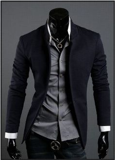business casual wear korean style 2013 mens mandarin