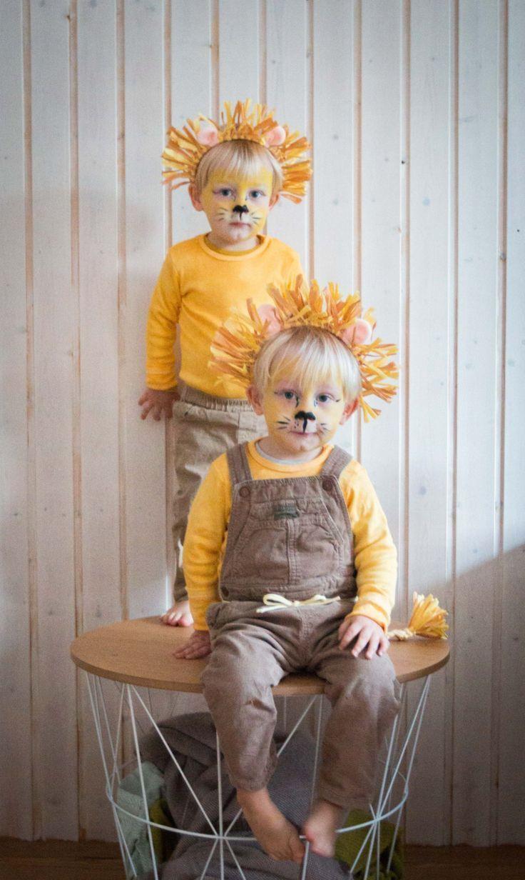 Meine Löwen- ein last minute Kostüm für Kinder | Ichsowirso.de #diycostumes