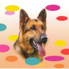 German Shepherd Dog Magnetic Notepad From Sarah J Home Decor. $5.95