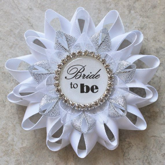 bridal shower decorations bride to be pin bride to be corsage bridal shower