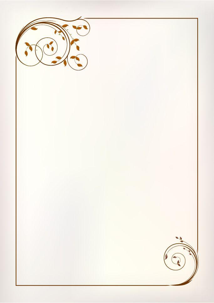 simple ornament frame vector material 01 | molduras e bordas ...