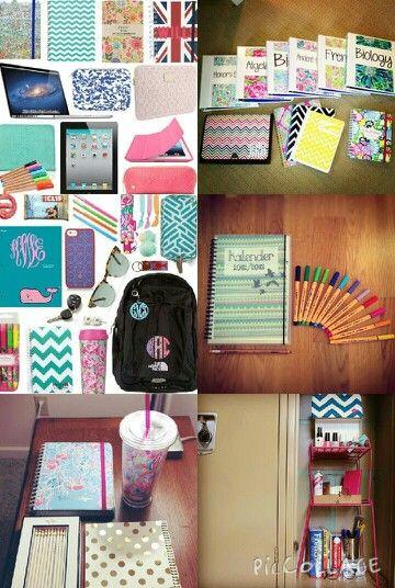 Some school supplies :)