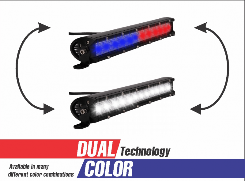 Dual Color 12 Spot Flood Combo Led Offroad Light Bar Flood Lights Flood Off Road Led Lights
