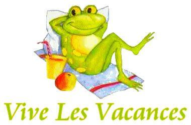 Vive les vacances vacances vive les vacances grenouille - Coloriage vive les vacances ...