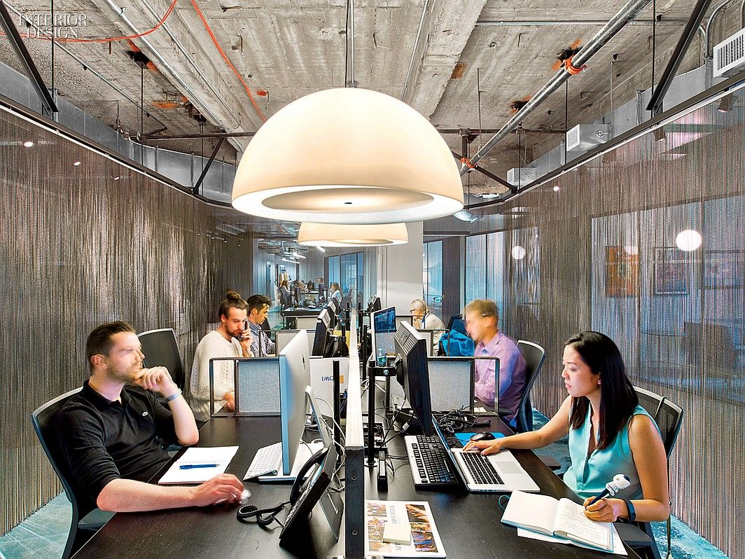 WME IMGs Office By The Rockwell Group Lets Talent Shine Corporate InteriorsOffice InteriorsDesign