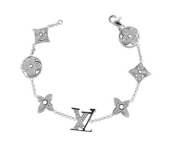 Louie Vuitton Bracelet Diamonds Are A Girls Best Friend