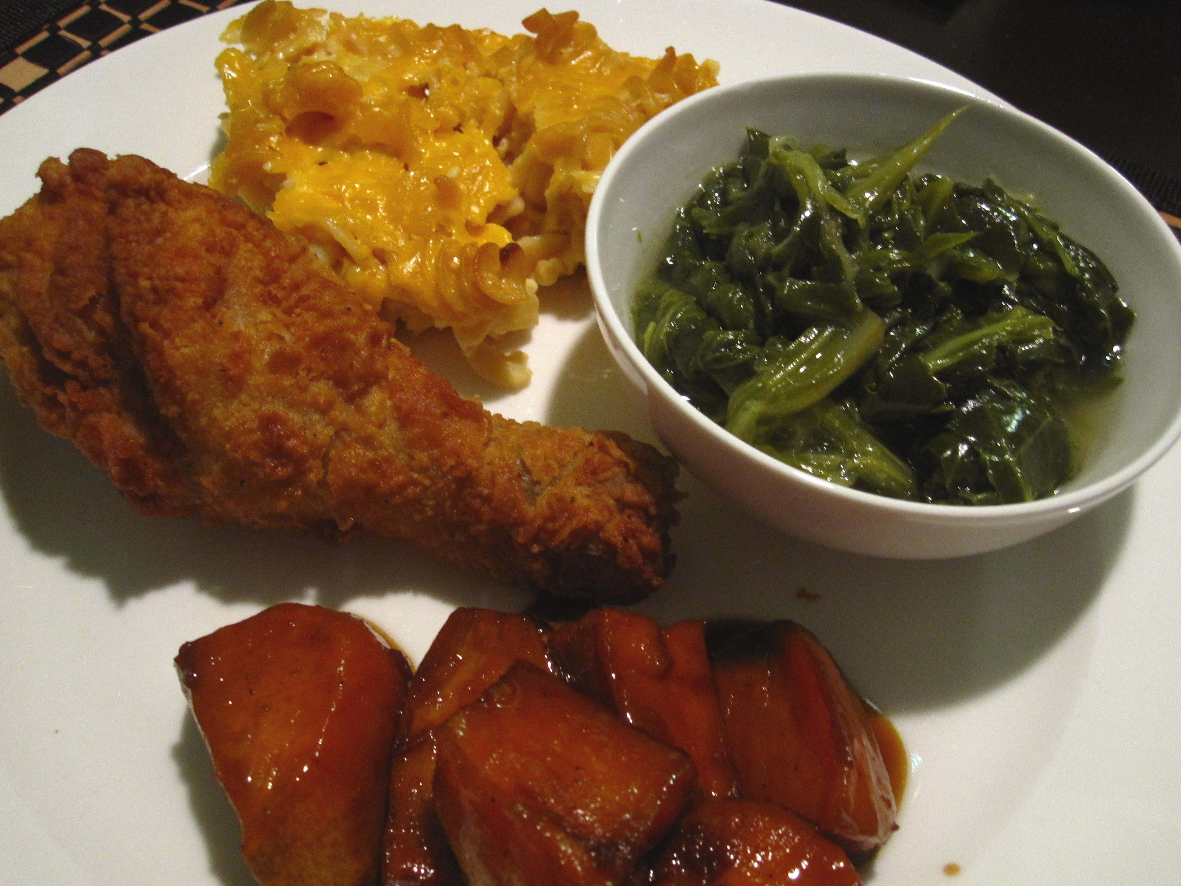 A soul food sunday fried chicken candied yams smoky mac n a soul food sunday fried chicken candied yams smoky mac n cheese forumfinder Gallery
