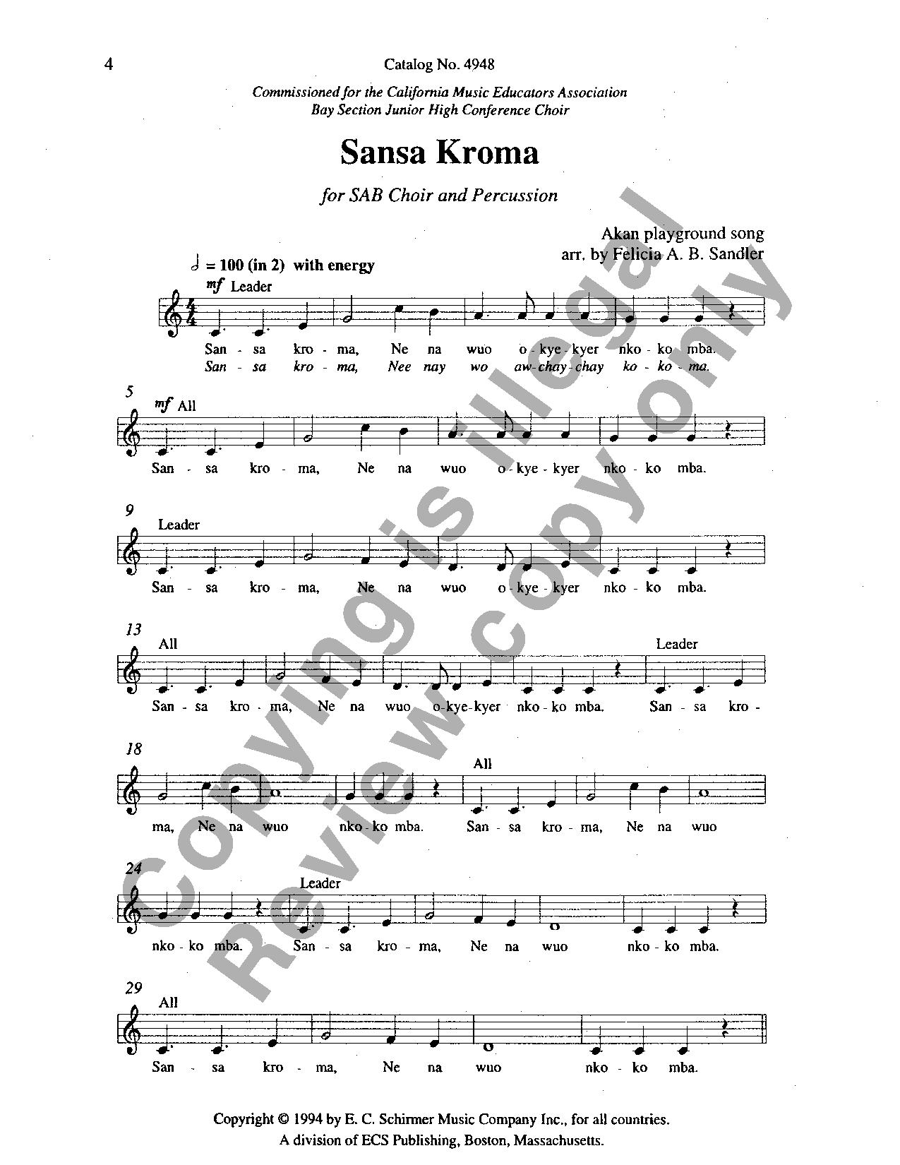 SANSA BAIXAR KROMA MUSICA