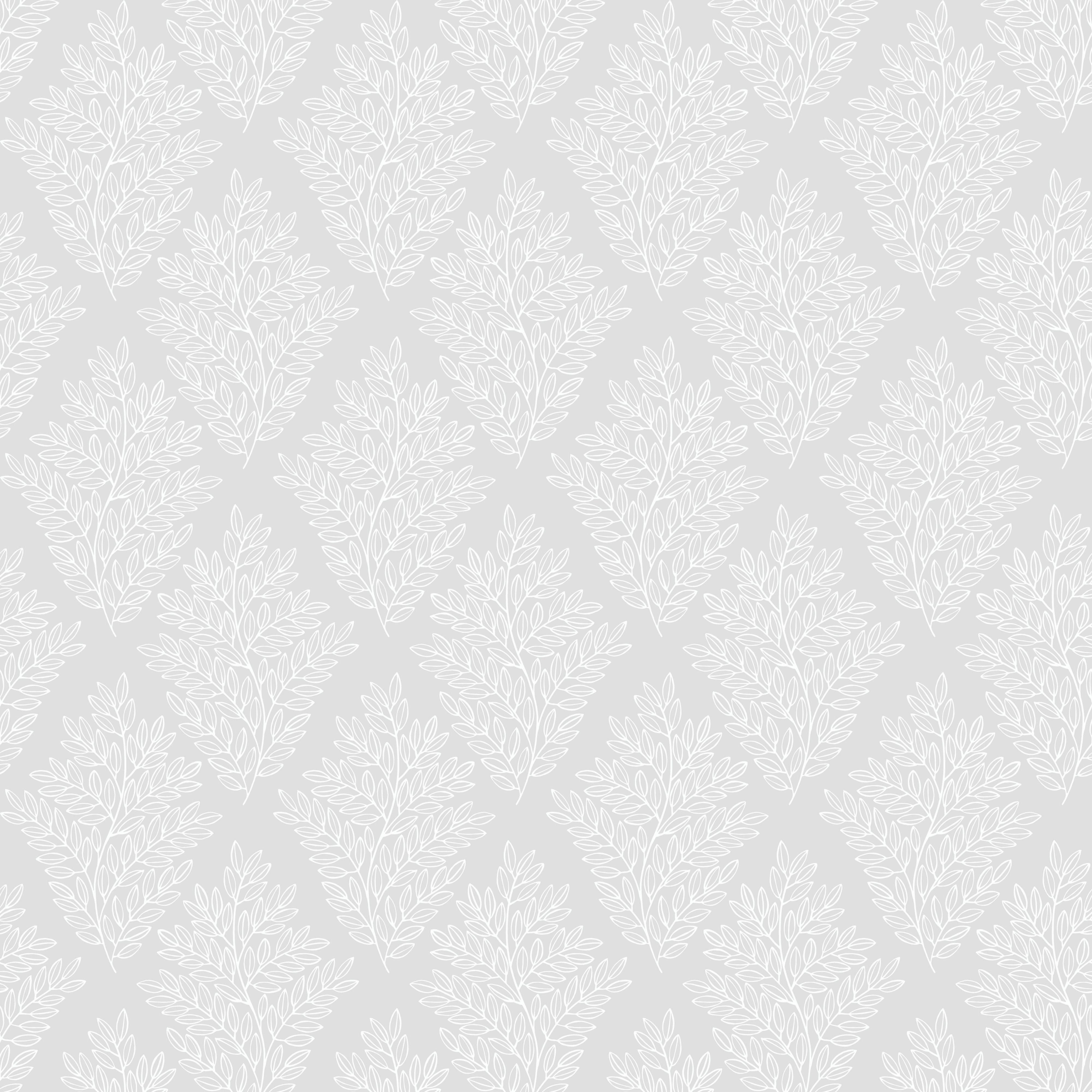 Graham & Brown Elinor Dove Grey House Motif Wallpaper