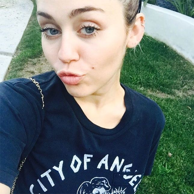 Miley Cyrus Has a Genius Hack for Covering Up Zits | Brit + Co