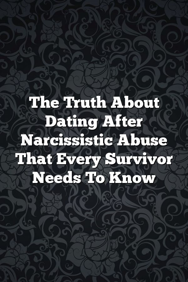 when to start dating after narcissistic