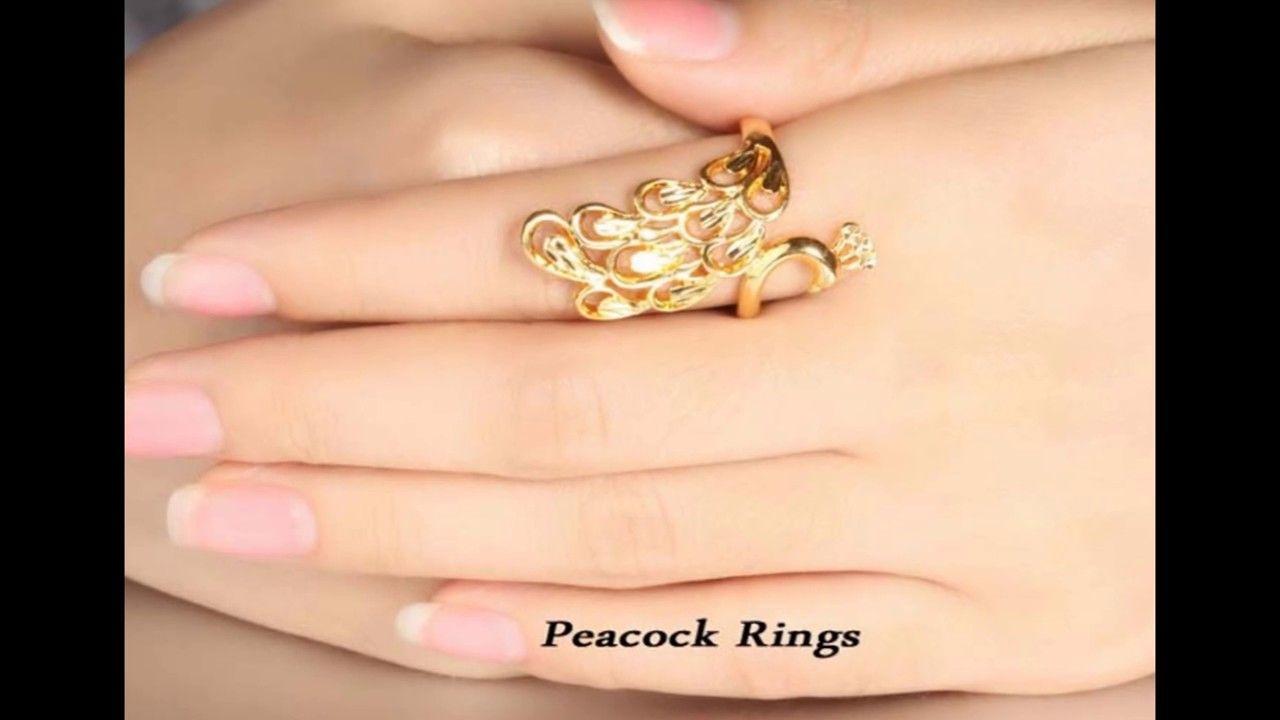 Latest Simple Gold Ring For Ladies Designs | Rabaka | Pinterest ...