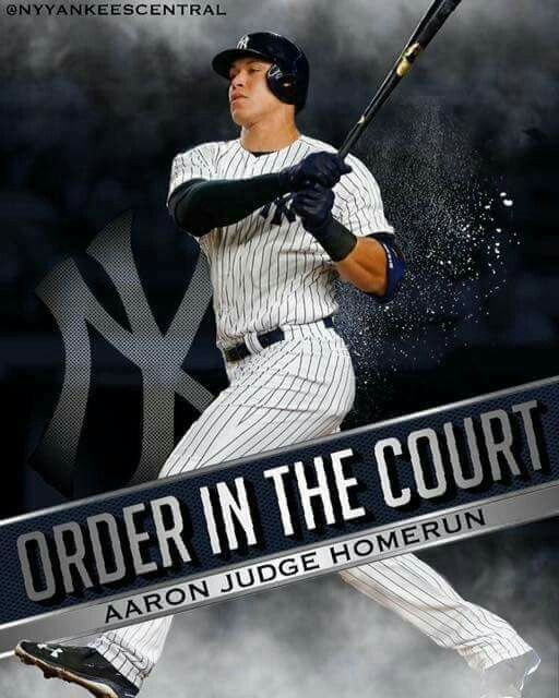 Aaron Judge New York Yankees New York Yankees Baseball Yankees Fan
