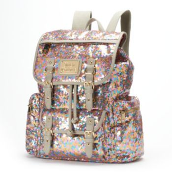 Juicy Couture Rainbow Sequin Backpack  41106f153c