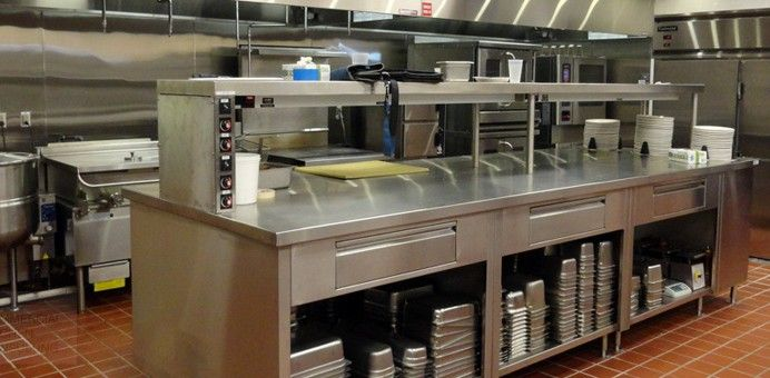 Kitchen commercial kitchen design and kitchen and home as for Kitchen ideas real estate