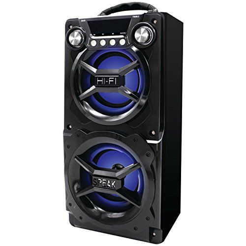 fb211f9e2f24b8a21366089457564266 sylvania sp328 black portable bluetooth speaker sylvania  at gsmx.co