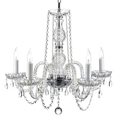 Murano venetian crystal chandelier jcpenney lights pinterest this venetian bobache crystal chandelier is perfect aloadofball Images