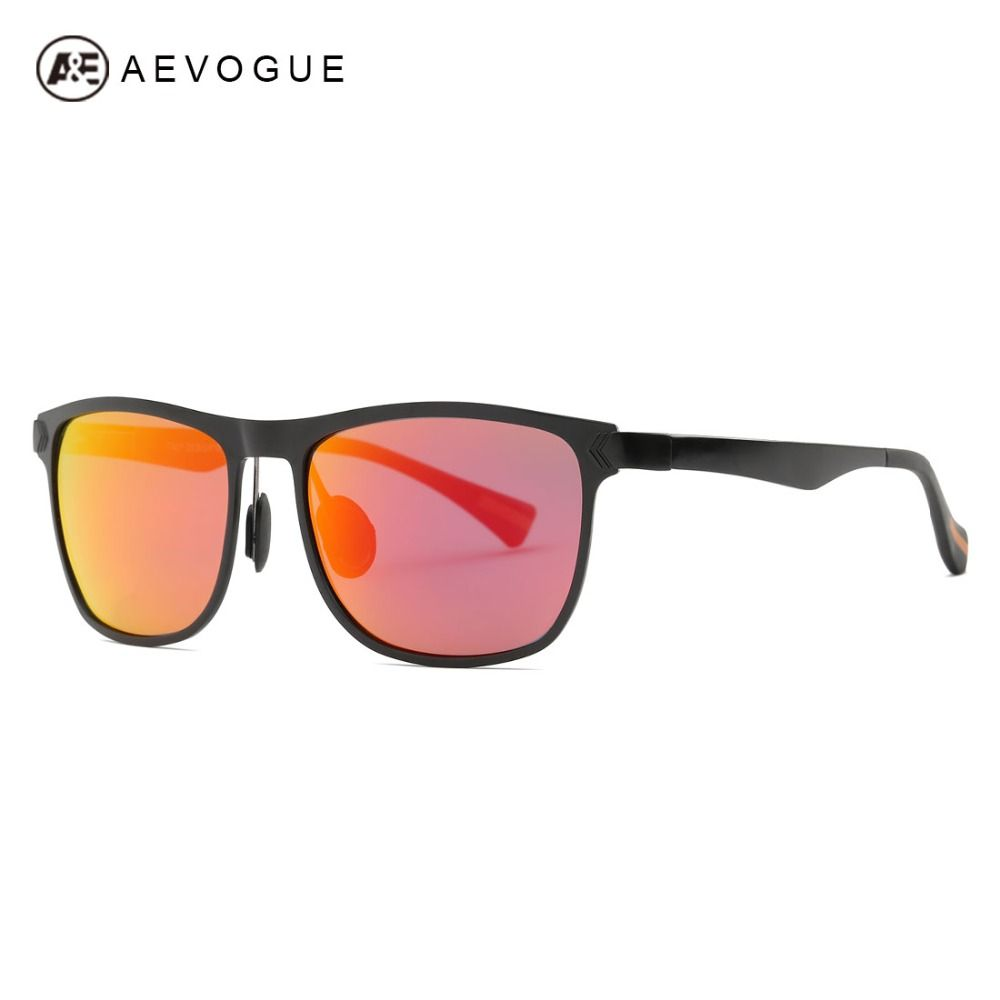 4347f628d5 AEVOGUE Polarized Sunglasses Men Ultra-Light Aluminum Magnesium Alloy  Summer Style Brand Designer Sun Glasses