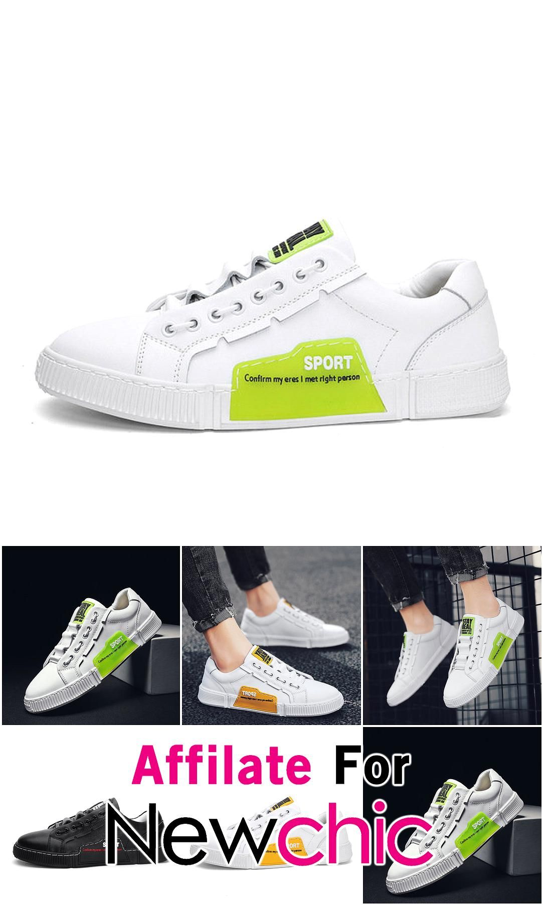 Leather New Mens Season Sports Style Casual Youth Tide Shoes Campus Tie Running White Shoes USD 39 Leather New Mens Season Sports Style Casual Youth Tide Shoes Campus Tie...