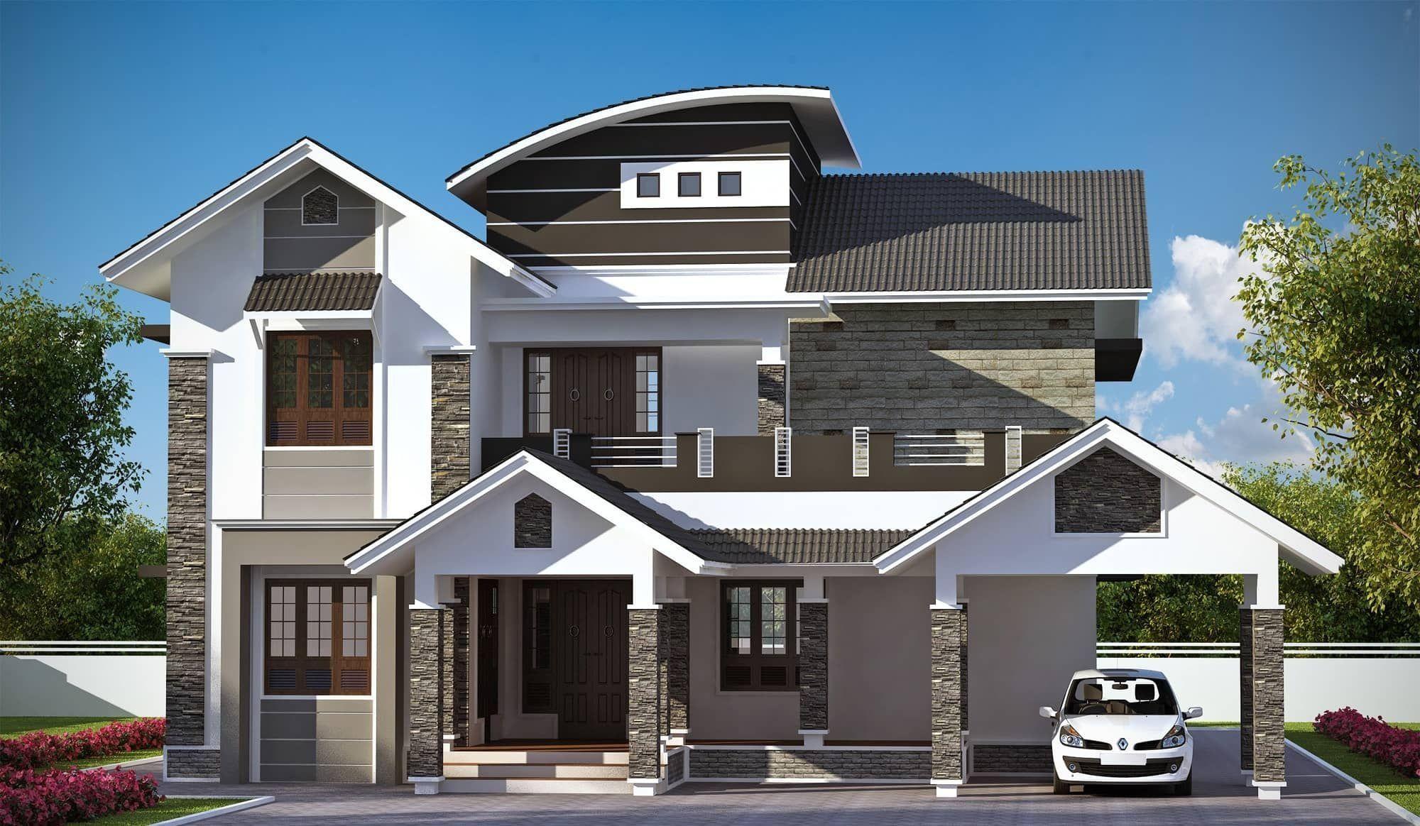 Best Dream Home Design Ideas 3 Kerala House Design Modern Style House Plans Dream Home Design