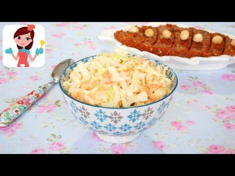 Coleslaw Salata Tarifi - Kevserin Mutfağı - Yemek Tarifleri - YouTube