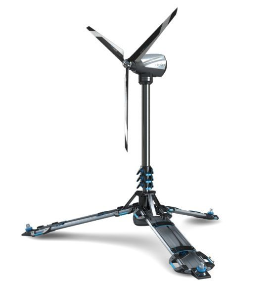 Ultra Light Materials Like Aluminum And Carbon Fiber Constitute The Construction Material Of The Eolic A Wind Powered Folda Wind Power Generator Wind Generator